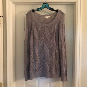 Olive & Oak Grey Sweater